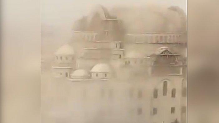 Türkiye'nin en büyük ikinci camisinde çökme: En az 2 yaralı