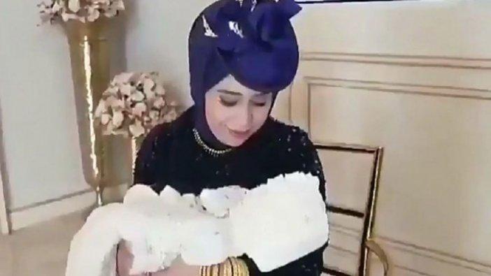 Lüks bebek mevlidi sosyal medyada gündem oldu