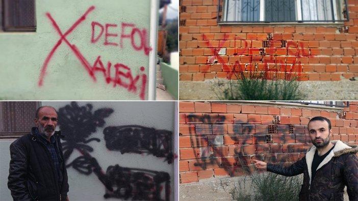İzmir'de evi işaretlenen Alevi aile konuştu: Endişe duyuyoruz