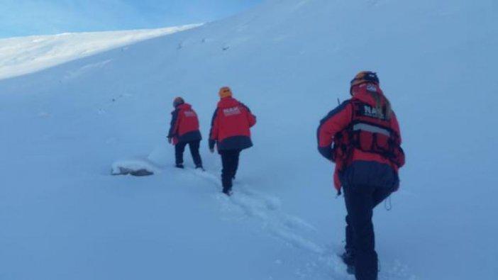 Uludağ'da kaybolan dağcıları arama kurtarma çalışmaları devam ediyor