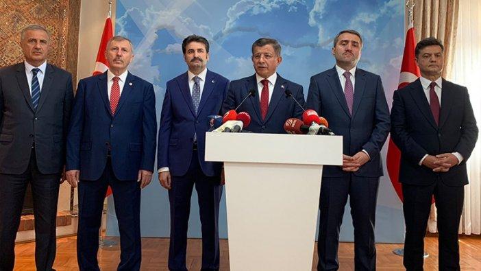 Davutoğlu'nun partisinin tanıtım toplantısının tarihi belli oldu