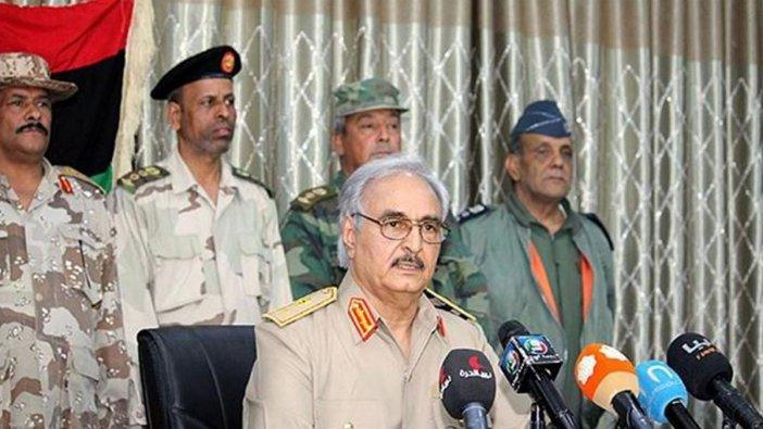 Libya'da Hafter ateşkesi kabul etti