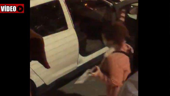 Karantina yolunda bir garip görüntü: Otobüsten indirilip araca konuldu