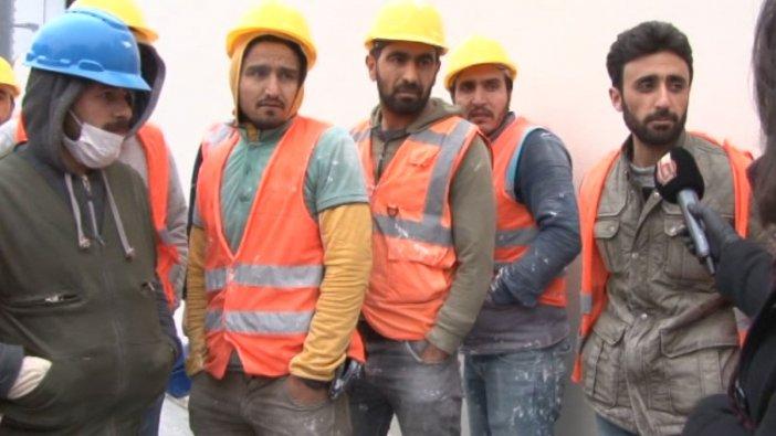 Halk TV, gündeme oturan şantiyeye gitti: İşçiler kendi OHAL'lerini ilân edemiyor