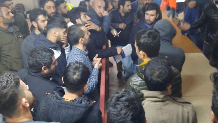Emaar Otel inşaatında işçiler haklarını alamıyor, evlerine gidemiyor: Ölmemizi mi bekliyorlar?