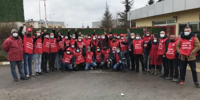 Trabajadores de Baldur en huelga durante 53 días a pesar del invierno negro