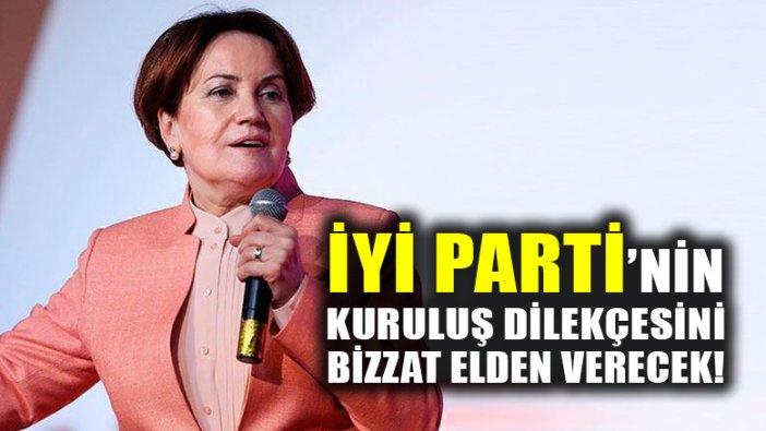 Meral Akşener, İYİ PARTİ'nin kuruluş dilekçesini İçişleri Bakanlığı'na bizzat teslim edecek!