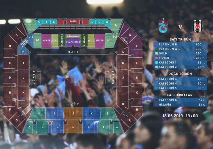 Trabzonspor'da Beşiktaş maçı biletleri satışa sunuldu