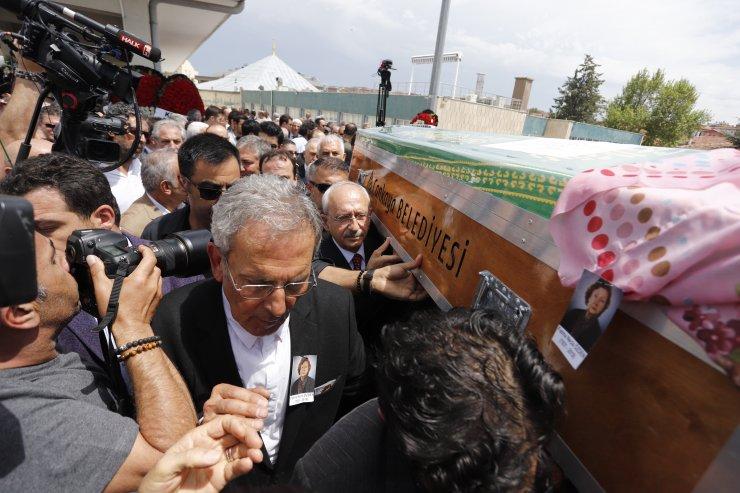 Fatma Necla Özden, Ankara'da son yolculuğa uğurlandı