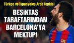 Beşiktaş taraftar grubu Beleştepe'den Barcelona'ya Arda Turan mektubu