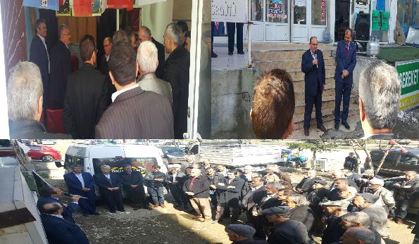 Samsun'un Ayvacık İlçesinde 'HAYIR' Toplantısı