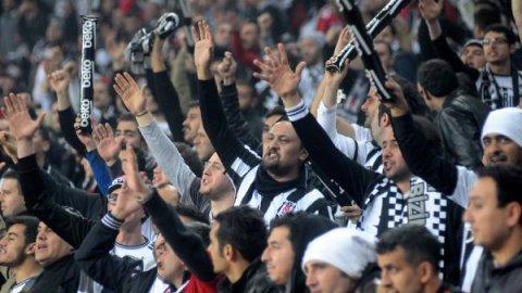Beşiktaş tribününde özel hazırlık!