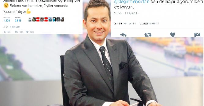 Kanal D, referandumda 'Hayır' diyeceğini açıklayan İrfan Değirmenci'yle 'yollarını ayırdı'