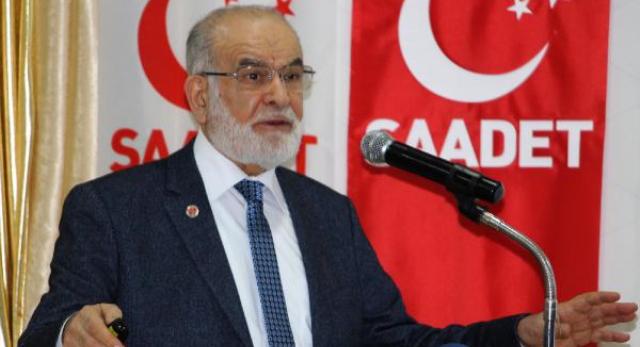 Karamollaoğlu: Biz sorumsuz, kontrole tabi tutulmayan başkanlığa karşıyız