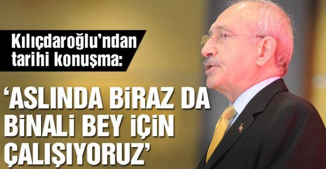 Kemal Kılıçdaroğlu'ndan tarihi konuşma
