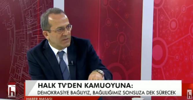 HALK TV'DEN DEMOKRASİ VE HUKUK ÇAĞRISI!