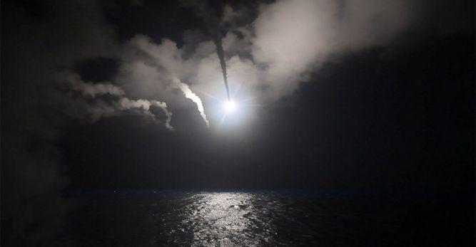 ABD, Suriye'yi vurdu… Rusya: Zarar verdi, Suudi Arabistan ve İsrail: Destekliyoruz