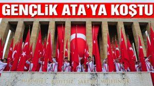 Türkiye bu 19 Mayıs'ta da Anıtkabir'e, Atatürk'e koştu