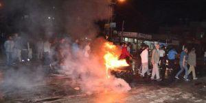 Adana'da Suriyelilerin gönderilmesini isteyen mahalleli eylem yaptı