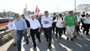 'Adalet Yürüyüşü'nde mermili provokasyon!