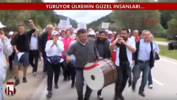 Adalet Yürüyüşü'nde Malatya türküsü