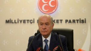 """Devlet Bahçeli'den Ayhan Oğan'ın """"Yeni Devlet"""" sözlerine tepki"""
