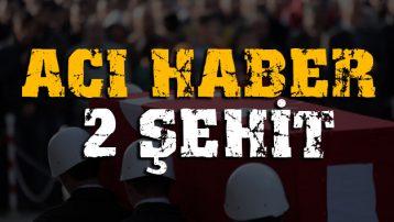 Bitlis'ten acı haber: İki asker şehit