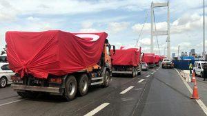 Etkinlikler başladı: 15 Temmuz Şehitler Köprüsü trafiğe kapatıldı