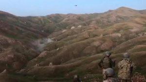 Taarruz helikopterleri, teröristleri böyle vurdu!