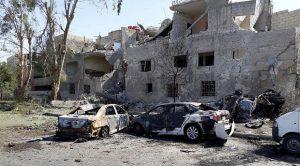 Şam'da intihar saldırısı düzenlendi: 7 ölü