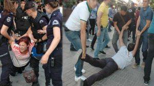 Ankara'da polis müdahalesi; 26 kişi gözaltında!