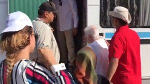 94 yaşında Adalet Yürüyüşüne katıldı!