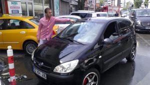 Arabası zarar gören vatandaşlar soluğu oto sanayide aldı