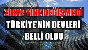 Türkiye'nin en büyük şirketleri açıklandı