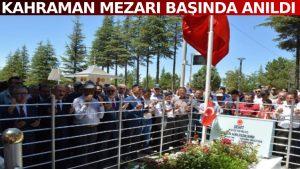 15 Temmuz kahramanı Ömer Halisdemir mezarında anıldı