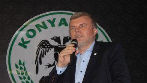 Konyaspor başkanından 'İzmir Marşı' ile ilgili skandal sözler