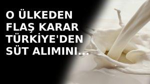 Rosselhoznadzor: Türkiye'den süt ürünü alımını sınırlandırabiliriz
