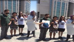 Cumhuriyet Davasında TRT'nin ardından A Haber'e protesto