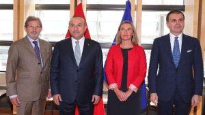 Dışişleri Bakanı Mevlüt Çavuşoğlu'ndan Avrupa Birliği açıklaması