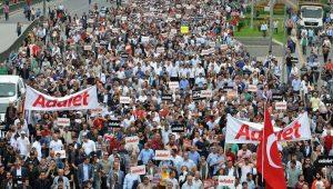 AKP'lilerin yüzde kaçı Adalet Yürüyüşünü destekledi? İşte çarpıcı sonuçlar