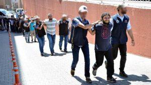 Adalet Yürüyüşüne hedef almak istedikleri iddia edilen 15 IŞİD'li mahkemeye sevk edildi