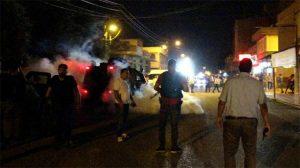 Adana'da kavga eden gruba biber gazlı müdahale