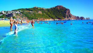 Avrupa'nın en çapkın 10 plajı arasında Alanya plajıda var