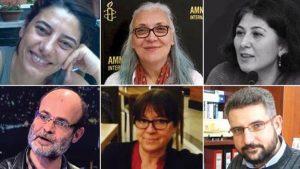 Büyükada'da gözaltına alınan Amnesty yöneticilerinin tutuklanmaları talep edildi