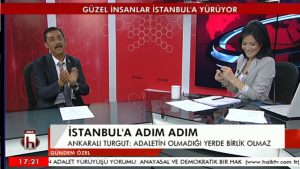 Ankaralı Turgut, Halk TV Ana Haber'de izleyenleri çoşturdu