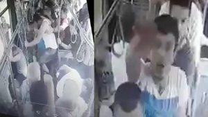 Kocaeli'de çarşı izninden dönen askerlere otobüste saldırı!