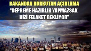 Bakan Özhaseki: Türkiye 2030 yılına kadar çok ciddi bir deprem ile karşı karşıya
