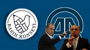 Basın Konseyi'nden Anadolu Ajansına kınama!