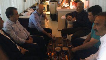 Baykal, Kılıçdaroğlu'nu karavanında ziyaret etti