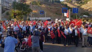 CHP, Tunceli'de şehit öğretmen Necmettin Yılmaz için yürüdü